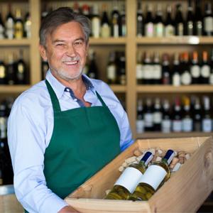 Weinladenbesitzer